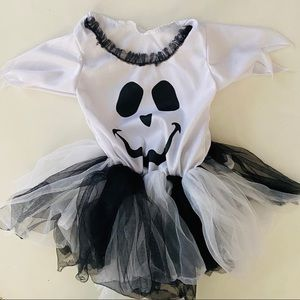 Other - Girly Ghost Halloween Costume Tutu 2T 👻